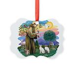 St. Fran (ff) - 2 Siamese (Pr Picture Ornament