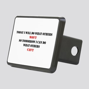 DO WHAT OTHERS CAN'T Rectangular Hitch Cover