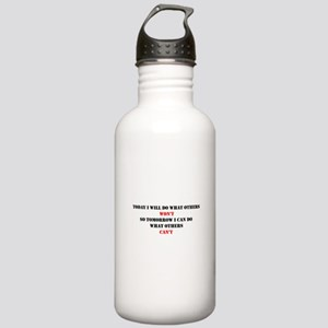 DO WHAT OTHERS CAN'T Stainless Water Bottle 1.0L
