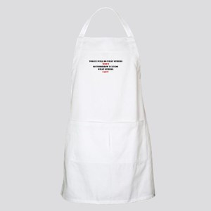 DO WHAT OTHERS CAN'T Apron