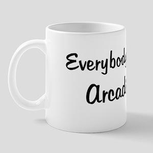 Arcadia Girl Mug