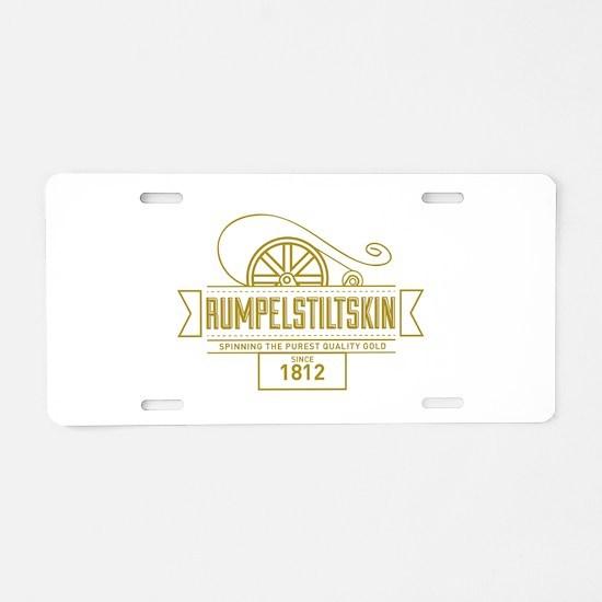 Cool Fairy Aluminum License Plate