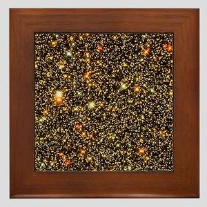 Stars towards the galaxy centre - Framed Tile