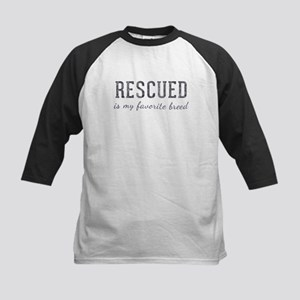 Rescued is Kids Baseball Jersey