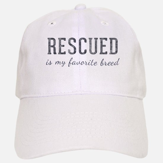 Rescued is Baseball Baseball Cap