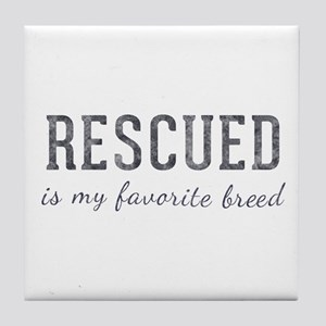 Rescued is Tile Coaster