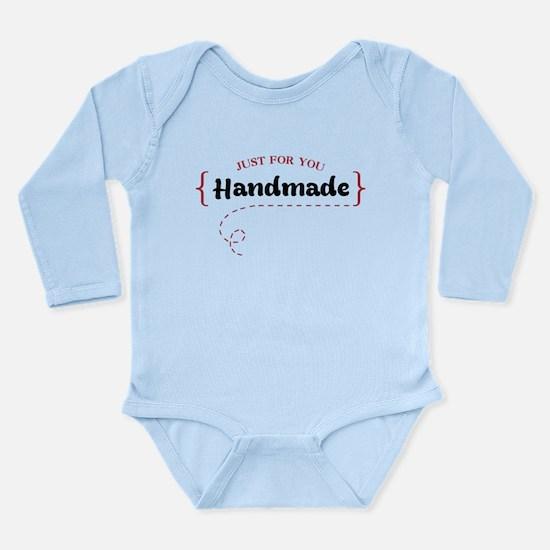 Just For You Long Sleeve Infant Bodysuit