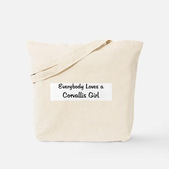 Corvallis Girl Tote Bag