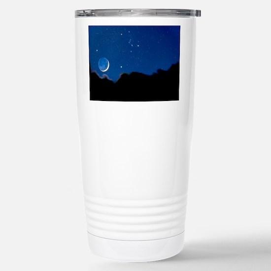 Night sky - Stainless Steel Travel Mug