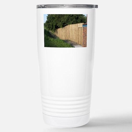 Noise-reducing fence - Stainless Steel Travel Mug