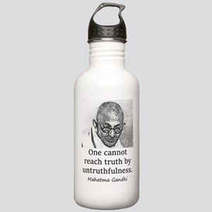 One Cannot Reach Truth - Mahatma Gandhi Water Bott