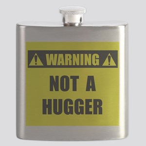 WARNING: Not A Hugger Flask