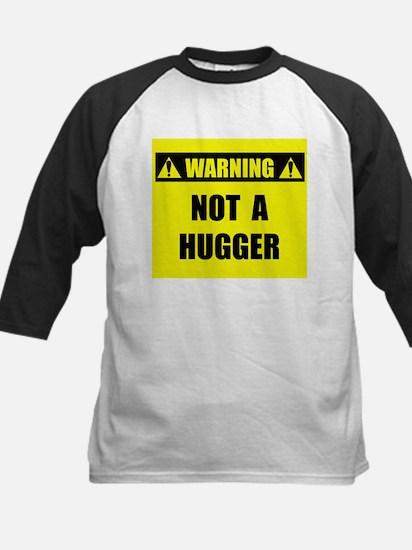 WARNING: Not A Hugger Kids Baseball Jersey