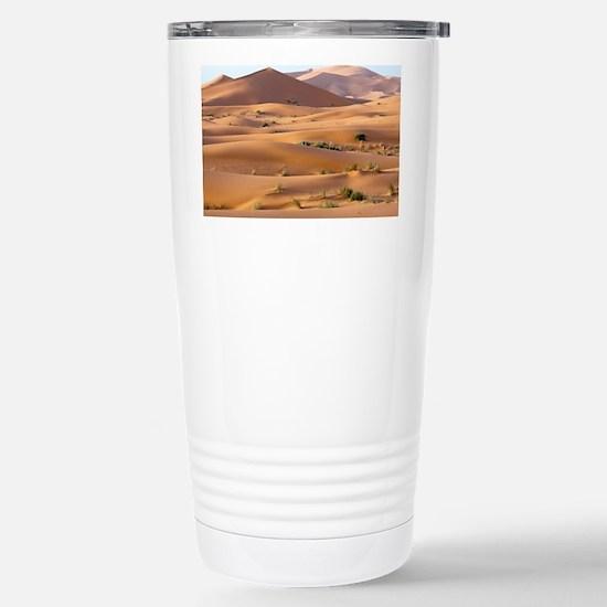 Saharan sand dunes - Stainless Steel Travel Mug