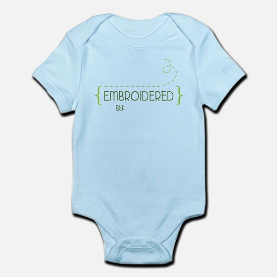 Embroidered By Infant Bodysuit