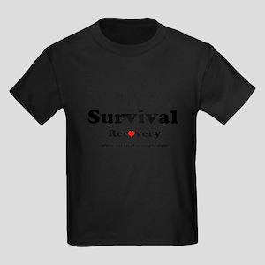 Prep First Survival Recovery Kids Dark T-Shirt