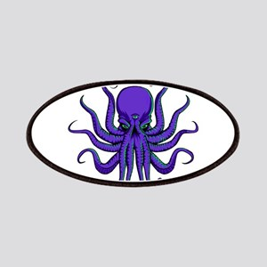 All seeing Octopus purple Patches
