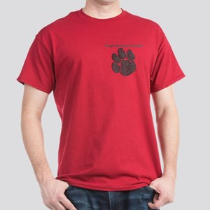 Stomp out Canine Cancer Dark T-Shirt