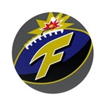 The F-Bomb Ornament (Round)