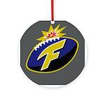 The F-Bomb Ornament (Round)