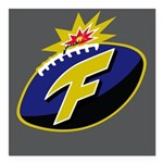 The F-Bomb Square Car Magnet 3