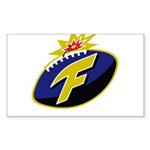 The F-Bomb Sticker (Rectangle 10 pk)
