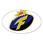 The F-Bomb Sticker (Oval)