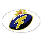 The F-Bomb Sticker (Oval)