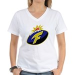 The F-Bomb Women's V-Neck T-Shirt