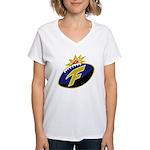 The F-Bomb Women's V-Neck T-Shirt