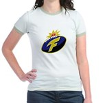 The F-Bomb Jr. Ringer T-Shirt
