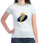 The F-Bomb Jr. Ringer T-Shirt