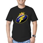 The F-Bomb Men's Fitted T-Shirt (dark)