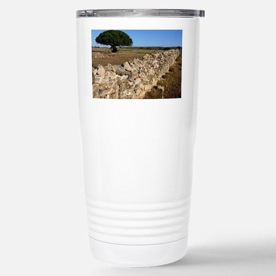 Dry stone wall - Stainless Steel Travel Mug