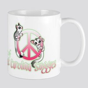 Southern Peace sign Sugar glider's Mug