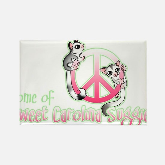 Southern Peace sign Sugar glider's Rectangle Magne