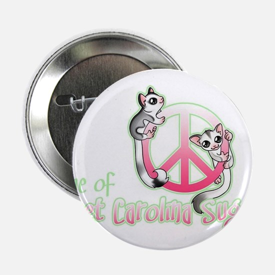 "Southern Peace sign Sugar glider's 2.25"" Button"