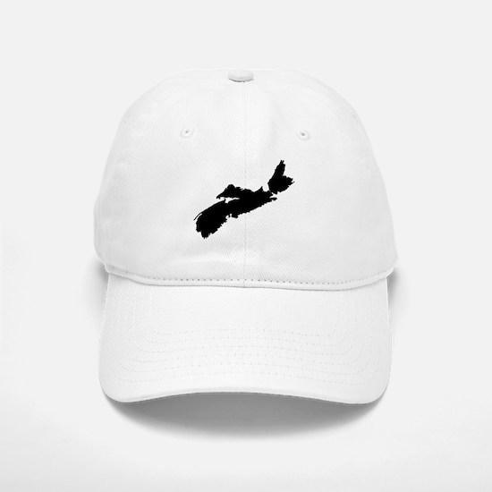 Black Baseball Baseball Cap