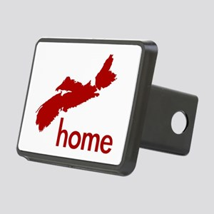 Red Rectangular Hitch Cover