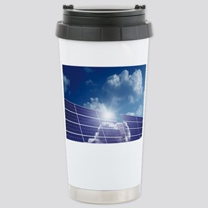Solar panels in the sun - Stainless Steel Travel M