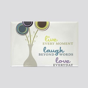 Love Everyday Rectangle Magnet