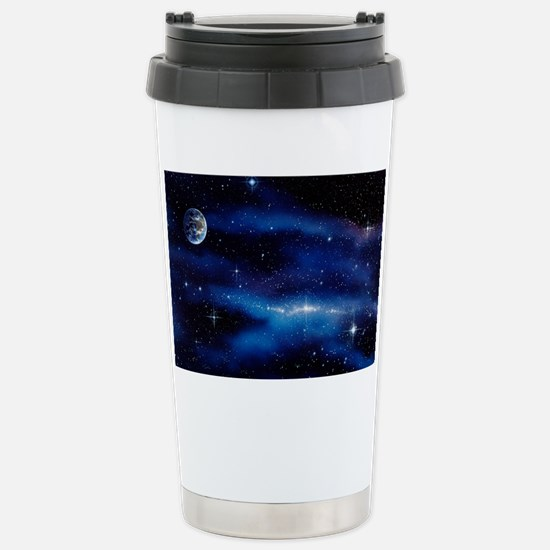 Earth and Milky Way - Stainless Steel Travel Mug