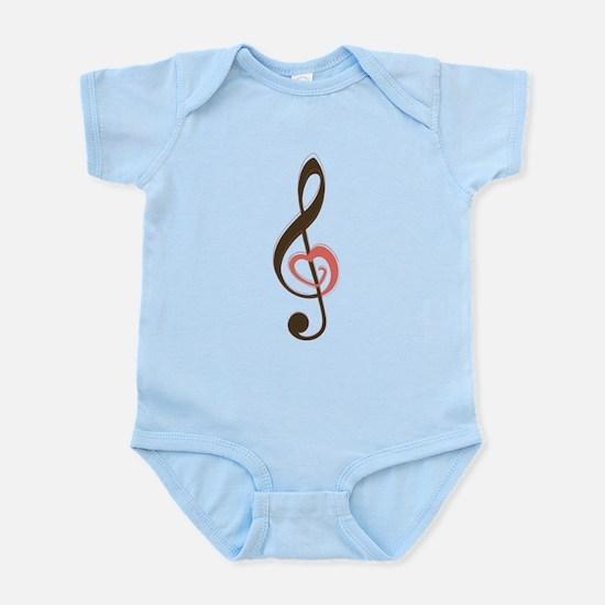 Love Music Infant Bodysuit