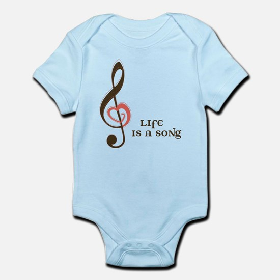 Life Is A Song Infant Bodysuit
