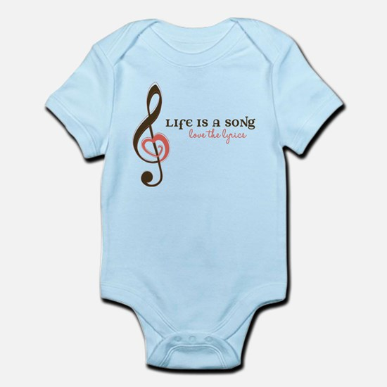 Love The Lyrics Infant Bodysuit