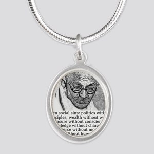 Seven Social Sins - Mahatma Gandhi Necklaces