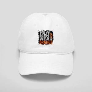Real Men Leukemia Cap