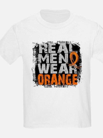 Real Men Leukemia T-Shirt