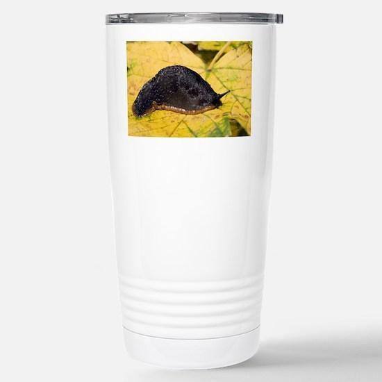 Great black slug - Stainless Steel Travel Mug