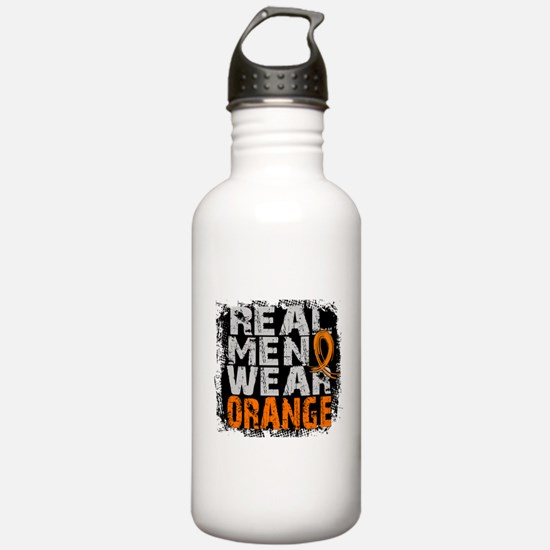 Real Men MS Sports Water Bottle